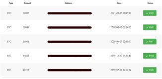 adBTC Ödeme Belgesi