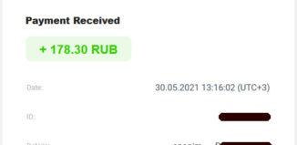 VisitBox Ödeme Kanıtı - Ruble Kazan